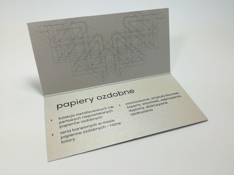 metalizowany papier okolicznościowy