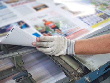 drukowanie kolorowych gazet