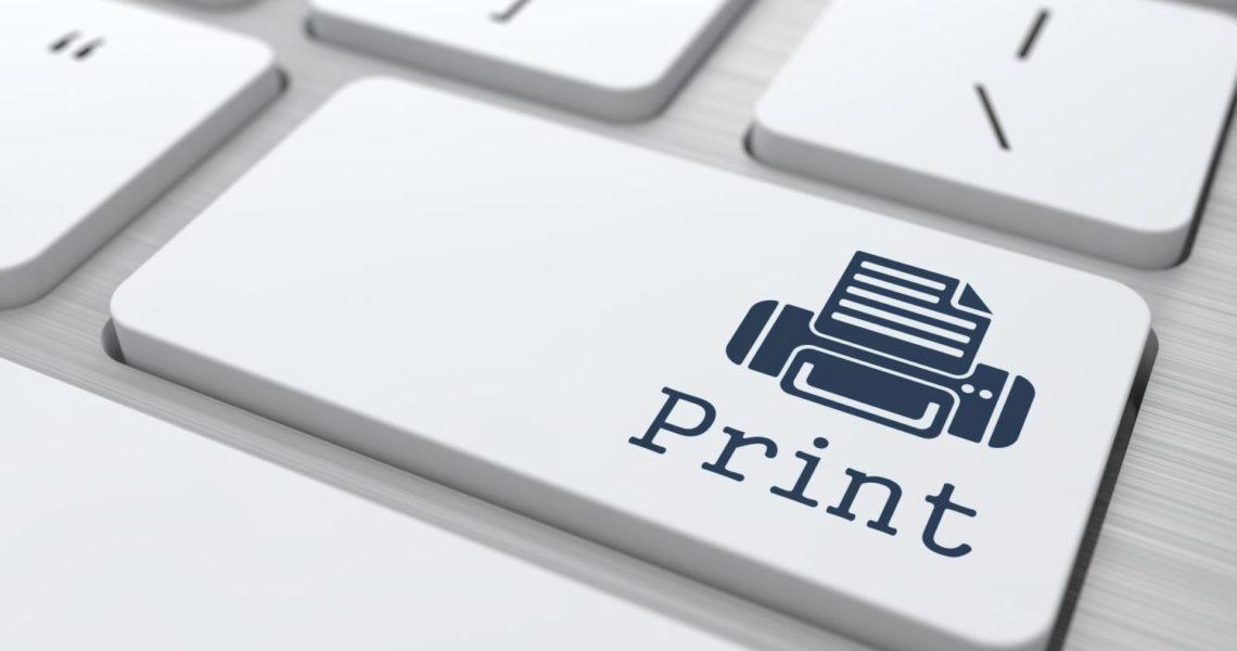 przycisk print na klawiaturze