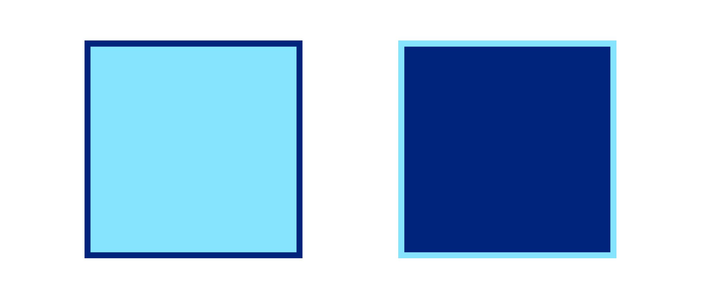 niebieskie kwadraty