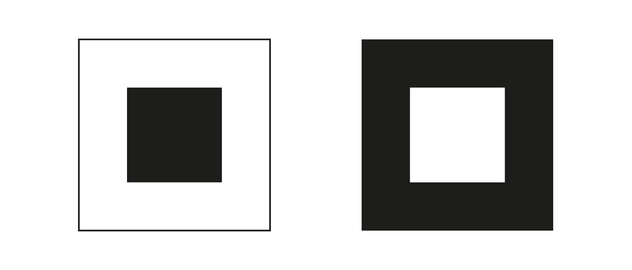 biało-czarne kwadraty