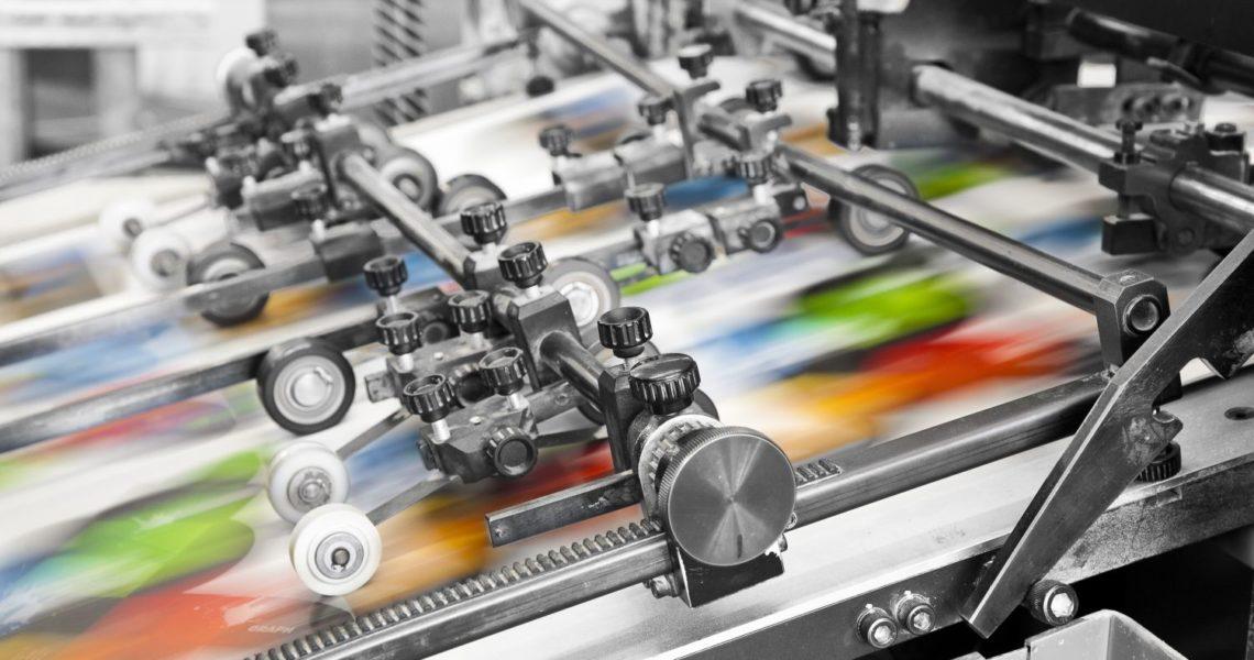 drukowanie kolorów