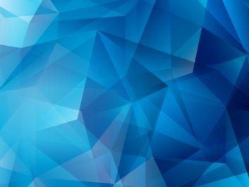 niebieska grafika